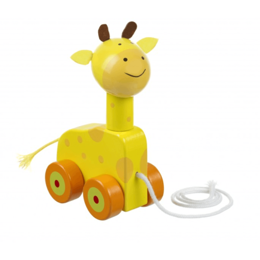 Giraffe Pull Along Toy