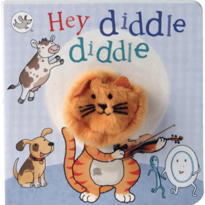 Finder Puppet Book Hey Diddle Diddle