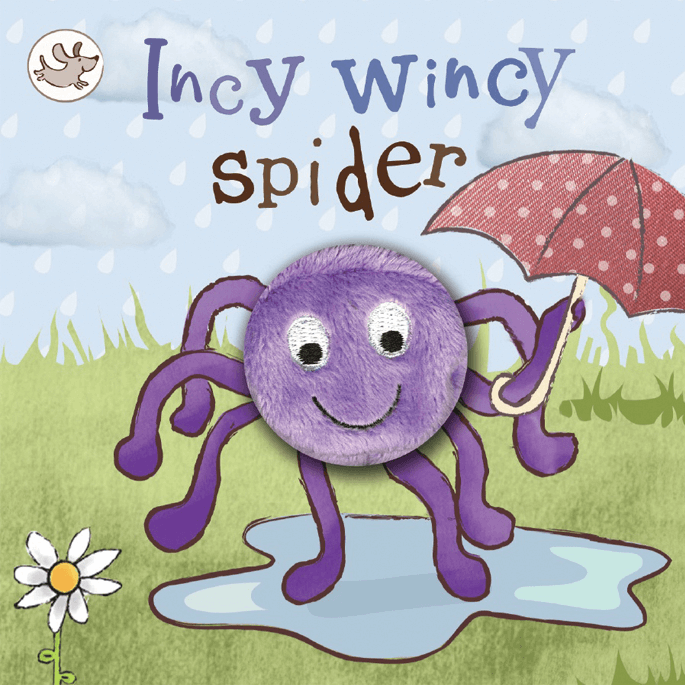 Finger Puppet Book Incy Wincy Spider
