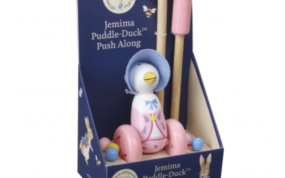 Peter Rabbit and Jemima Puddle-Duck push along toys – coming soon