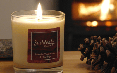 Suddenly… Relaxed – Luxury Candles
