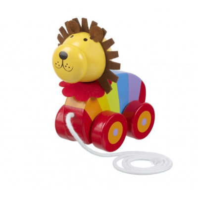 Lion Pull Along Toy