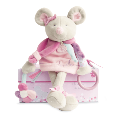 Pearly Mouse Activity Doll for Babies
