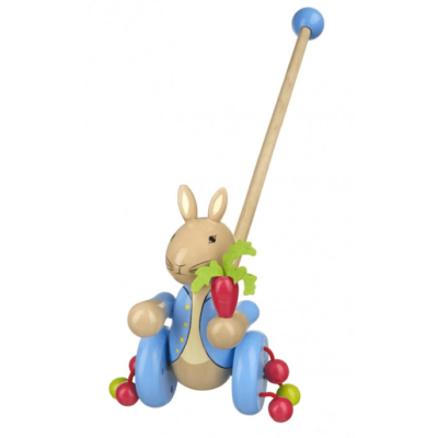 Traditional Peter Rabbit Push Along Toy
