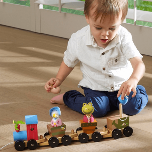 Traditional Peter Rabbit Puzzle train