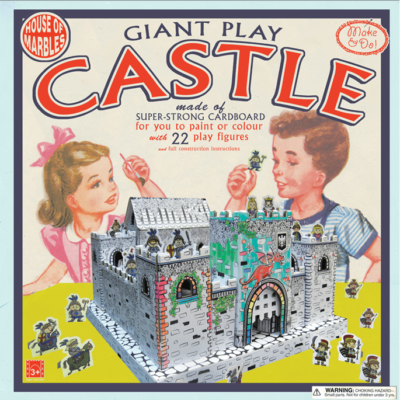Make Colour and Play Castle