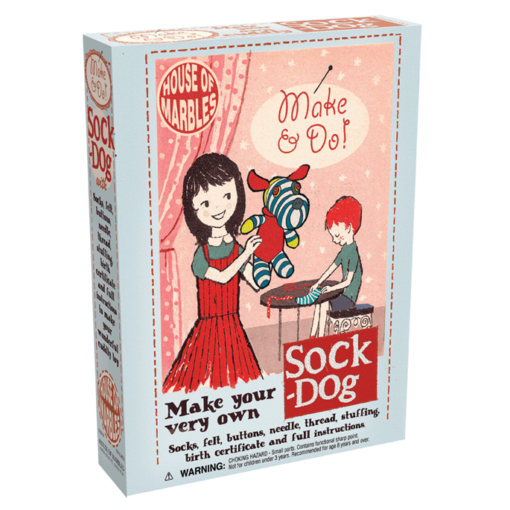 Make and Sew Sock Dog