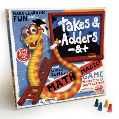 Takes and Adders Mathematical Game