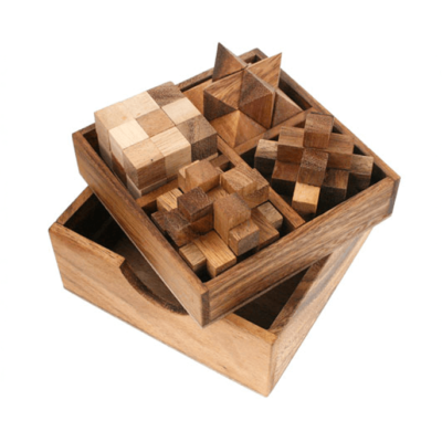 Wooden Puzzle Box Gift