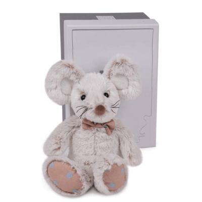 Copains Grey Mouse Soft Toy