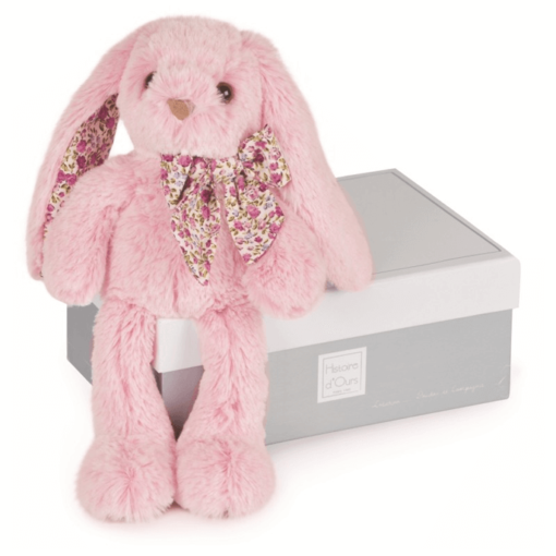 Copains Pink Rabbit Soft Toy