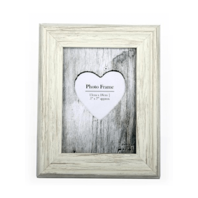 Cream shabby Chic Photo Frame
