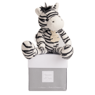 Yoopy Savane Zebra Soft Toy